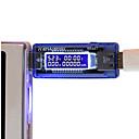 ราคาถูก เครื่องมือวัดอุณหภูมิ-3 in 1 usb tester แบตเตอรี่แรงดันไฟฟ้าปัจจุบันเครื่องตรวจจับพลังงานมือถือเครื่องตรวจจับแรงดันไฟฟ้าปัจจุบัน