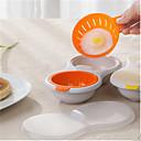 billiga Köksredskap och -apparater-mikrovågsugnpipare köksredskap dubbla kopp dubbla grott äggkokare ägg poaching koppar