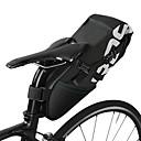 ราคาถูก อุปกรณ์เสริมฐานติดตั้งและตัวยึดโทรศัพท์-ROSWHEEL 10 L กระเป๋าใส่จักรยาน มัลติฟังก์ชั่ Large Capacity โลโก้สะท้อนแสง Bike Bag Polyster Bicycle Bag Cycle Bag จักรยานใช้บนถนน จักรยานปีนเขา จักรยานพับได้