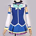 """billige tappekran Sets-Inspirert av Cosplay Cosplay Anime  """"Cosplay-kostymer"""" Japansk Cosplay Klær Spesielt design Topp / Skjørte / Sløyfe Til Herre / Dame"""