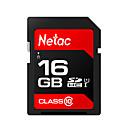 ราคาถูก SDการ์ด-Netac 16GB การ์ดหน่วยความจำ UHS-I U1 / Class10 p600