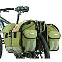 baratos Alforjes para Bicicleta-ROSWHEEL 50 L Mala para Bagageiro de Bicicleta / Alforje para Bicicleta Ajustável Grande Capacidade Prova-de-Água Bolsa de Bicicleta Tela de pintura Material impermeável 600D Bolsa de Bicicleta Bolsa