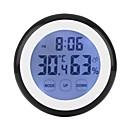 ราคาถูก เครื่องมือวัดอุณหภูมิ-เคลื่อนที่ / ทนทาน นาฬิกาปลุก Clock Thermometer ชีวิตในบ้าน