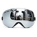 ราคาถูก ชุดสำหรับเล่นกีฬาสกี-แว่นตาสกีสโนว์บอร์ดสองชั้นเลนส์ป้องกันรังสียูวีป้องกันหมอกรถจักรยานยนต์ขับรถสีเทา