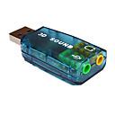 ราคาถูก สายเคเบิล-Male to Dual Female USB2.0 B เสียง 3.5 มม ตัวผู้-ตัวเมีย 480 Mbps