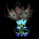 Χαμηλού Κόστους Μάσκες-Μάσκα Ενετική μάσκα Μάσκα φτερών Εμπνευσμένη από Πριγκίπισσα Στολές Ηρώων Βυσσινί Πάρτι / Απόγευμα Halloween Απόκριες Μασκάρεμα Ενηλίκων Γυναικεία Γυναίκα / Μισή μάσκα
