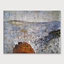 billiga Abstrakta målningar-Hang målad oljemålning HANDMÅLAD - Abstrakt Moderna Inkludera innerram