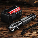 billiga Modehalsband-UltraFire LED-Ficklampor 1200 lm LED LED 1 utsläpps 5 Belysning läge med batteri och laddare Justerbar fokus Camping / Vandring / Grottkrypning Vardagsanvändning Cykling EU-kontakt AU-kontakt