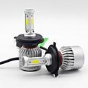 billige Tåkelys til bil-SO.K 2pcs H7 / H4 / H3 Bil Elpærer 25 W COB 6000 lm 3 LED Tåkelys / Hodelykt Til Alle år