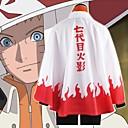 povoljno Anime kostimi-Inspirirana Naruto Hokage / Naruto Uzumaki / Boruto Anime Cosplay nošnje Japanski Cosplay Tops / Bottoms Klasika Dugih rukava Plašt Za Uniseks