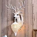povoljno Zidni svijećnjaci-Kreativan Retro / vintage / Zemlja Zidne svjetiljke Unutrašnji Resin zidna svjetiljka 220-240V 40 W