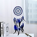 cheap Dreamcatcher-Handmade Dream Catchers With Feather Traditional Wall Hangings Decoration