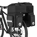 Χαμηλού Κόστους Τσάντες για σκελετό ποδηλάτου-ROCKBROS 48 L Τσάντα αποσκευών για ποδήλατο / Διπλή τσάντα σέλας ποδηλάτου Τσάντες αποσκευών για ποδήλατο 3 σε 1 Πολυλειτουργικό Μεγάλη χωρητικότητα Τσάντα ποδηλάτου Νάιλον 600D PVC Τσάντα ποδηλάτου