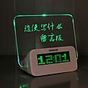זול חוט נורות לד-שעון מעורר דיגיטלי פלסטיק LED 1 pcs