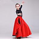 povoljno Etnički i kulturni kostime-Latino ples Flamenko Žene / Djevojčice Seksi blagdanski kostimi Spandex Nabori Sudačko Suknje