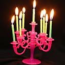 Χαμηλού Κόστους Κεριά & Κηροπήγια-Σύγχρονη Σύγχρονη Πλαστικά Κηροπήγια Κηροπήγιο 1pc, Κερί / Κερί