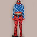 povoljno Anime kostimi-Inspirirana JoJo je Bizarno Avantura Mista Guido Anime Cosplay nošnje Japanski Cosplay Suits Uzorak Top / Hlače / Kostim Za Muškarci / Žene