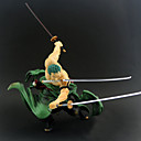 billiga Animefigurer-Anime Actionfigurer Inspirerad av One Piece Roronoa Zoro pvc 20 cm CM Modell Leksaker Dockleksak