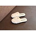 ราคาถูก รองเท้าแตะเด็ก-เด็กผู้หญิง ความสะดวกสบาย หนังเทียม รองเท้าแตะ เด็กวัยหัดเดิน (9m-4ys) / เด็กน้อย (4-7ys) ขาว / สีดำ / สีชมพู ฤดูร้อน / ลายบล็อคสี / ยาง