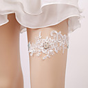 povoljno Party lente-Čipka Vjenčanje Vjenčanja S Scattered Crystals Style / Biserni detalji Podvezice Vjenčanje / Party