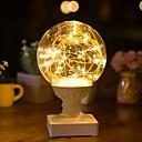 ราคาถูก ไฟตกแต่ง-1pc คืนแสงไฟ LED ขาวนวล Creative <5 V