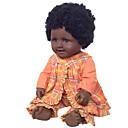 povoljno USB-Autentične bebe Djevojka lutka Za ženske bebe Afrička lutka 20 inch vjeran Slatko Djeca / Teen Dječjom Uniseks Igračke za kućne ljubimce Poklon