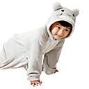 ราคาถูก เสื้อผ้าสำหรับสุนัข-สำหรับเด็ก Kigurumi Pajama แมว Totoro รูปสัตว์ Onesie Pajama ผ้าสักหลาด ผ้าขนแกะ สีเทา คอสเพลย์ สำหรับ เด็กชายและเด็กหญิง สัตว์ชุดนอน การ์ตูน Festival / Holiday เครื่องแต่งกาย