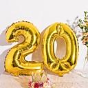 baratos Decorações para Aniversários-Balão Folha de alumínio Decorações do casamento Aniversário / Festa de aniversário Personagens / Férias / Chá de Bebê Todas as Estações