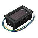 billige OBD-dc dual display digital strøm og spenningsmålerhode tre linjer rød og blå dc 4,5-30v 0-100a