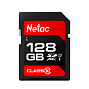 ราคาถูก SDการ์ด-Netac 128GB การ์ดหน่วยความจำ UHS-I U1 / Class10 p600