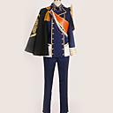 povoljno Anime kostimi-Inspirirana Touken Ranbu Cosplay Anime Cosplay nošnje Japanski Cosplay Suits Posebni dizajni Kaput / Top / Hlače Za Muškarci / Žene / Rukavice / Plašt