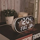 זול שעוני קיר-שעון מעורר דיגיטלי פלסטיק אוטומטי 1 pcs