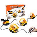 povoljno Novost igračke-inženjering stil novosti magija auto slijedite liniju kreće olovkom povući linije građevinska vozila djeca dar novosti igračke
