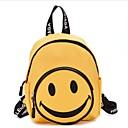 ราคาถูก ผู้ผลิตขนมปัง-ผ้าใบ ซิป กระเป๋าโรงเรียน โรงเรียน สีดำ / ทับทิม / สีเหลือง / เด็กผู้หญิง
