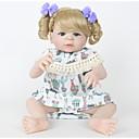Χαμηλού Κόστους Παιχνίδια που Διώχνουν το Στρες-FeelWind Κούκλες σαν αληθινές Κορίτσι κορίτσι Μωρά Κορίτσια 22 inch Σιλικόνη πλήρους σώματος Σιλικόνη Βινύλιο - όμοιος με ζωντανό Χειροποίητο Χαριτωμένο Ασφαλής για παιδιά Παιδικό / Εφηβικό Non Toxic