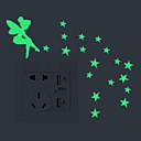povoljno Zidne naljepnice-Light Switch Naljepnice - Svjetleće zidne naljepnice Vile Unutrašnji / Outdoor