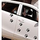 Χαμηλού Κόστους Αυτοκίνητο Διακόσμηση και Προστασία Σώματος-Λευκό / Μαύρο Αυτοκόλλητα Αυτοκινήτου Κινούμενα σχέδια / Αθλήματα / χαριτωμένο στυλ Αυτοκόλλητα πόρτας / Αυτοκόλλητα αυτοκόλλητα Κινούμενα σχέδια Αυτοκόλλητα