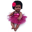 povoljno USB-Autentične bebe Djevojka lutka Za ženske bebe Afrička lutka 20 inch Silikon - vjeran Slatko Djeca / Teen Dječjom Uniseks Igračke za kućne ljubimce Poklon