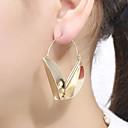 ราคาถูก ชุดดำน้ำ-สำหรับผู้หญิง ต่างหู โบราณ Stylish ต่างหู เครื่องประดับ สีทอง / สีเงิน สำหรับ ปาร์ตี้ ทุกวัน 1 คู่