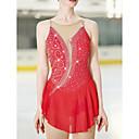 Χαμηλού Κόστους Φόρεμα για παγοδρομία-Φόρεμα για φιγούρες πατινάζ Γυναικεία Κοριτσίστικα Patinaj Φορέματα Λευκό Ουρανί Σκούρο μωβ Ασύμμετρο τελείωμα Υψηλή Ελαστικότητα Ανταγωνισμός Ενδυμασία πατινάζ Ανατομικός Σχεδιασμός Χειροποίητο