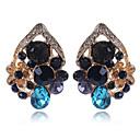 povoljno Naušnice-Žene Sitne naušnice Cvijet Slatka Style Elegantno Imitacija dijamanta Naušnice Jewelry Duga Za Vjenčanje Party 1 par