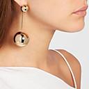 ราคาถูก ตุ้มหู-สำหรับผู้หญิง ต่างหู พู่ Stylish ต่างหู เครื่องประดับ สีทอง สำหรับ ปาร์ตี้ ทุกวัน 1 คู่ / 5pcs
