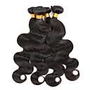 povoljno Perike s ljudskom kosom-6 paketića Brazilska kosa Tijelo Wave Virgin kosa Headpiece Ljudske kose plete Produžetak 8-28 inch Prirodna boja Isprepliće ljudske kose Novi Dolazak Rasprodaja Moda Proširenja ljudske kose