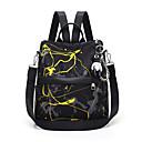 ราคาถูก School Bags-ไนลอน ซิป กระเป๋าเป้สะพายหลัง ทุกวัน ทับทิม / สีเหลือง