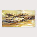 Χαμηλού Κόστους Αφηρημένοι Πίνακες-Hang-ζωγραφισμένα ελαιογραφία Ζωγραφισμένα στο χέρι - Αφηρημένο Μοντέρνα Περιλαμβάνει εσωτερικό πλαίσιο