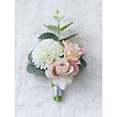 baratos Bouquets de Noiva-Bouquets de Noiva Alfinetes de Lapela / Presentes / Decoração de Casamento Original Casamento / Cerimônia Composição de Materiais / Tecidos 0-10 cm