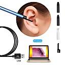 baratos Microscópios & Endoscópios-usb endoscope camera 5.5mm lens visual orelha otoscópio inspeção borescope para pc
