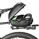 baratos Gadgets de Banheiro-ROCKBROS Bolsa para Bagageiro de Bicicleta Malas para Bagageiro de Bicicleta Reflector Grande Capacidade Prova-de-Água Bolsa de Bicicleta EVA de Alta Qualidade Liga de alumínio Bolsa de Bicicleta