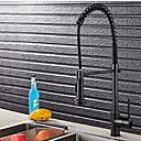 ราคาถูก ก๊อกน้ำห้องครัว-ก๊อกน้ำสำหรับห้องครัว - จับเดี่ยวหนึ่งหลุม ชุบโลหะด้วยไฟฟ้า มาตรฐานหัดดื่ม อื่นๆ Ordinary Kitchen Taps