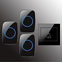 Χαμηλού Κόστους LED Bi-pin Λαμπτήρες-Factory OEM Ασύρματη Ένα έως τρία κουδούνια Μουσική / Ντινγκ Ντονγκ Κουδούνι χωρίς οπτικό Τοποθετημένα σε Επιφάνεια